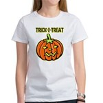 Trick or Treat Halloween Pumpkin Women's T-Shirt