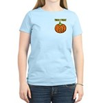 Trick or Treat Halloween Pumpkin Women's Light T-S