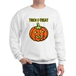Trick or Treat Halloween Pumpkin Sweatshirt