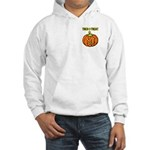 Trick or Treat Halloween Pumpkin Hooded Sweatshirt