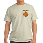 Trick or Treat Halloween Pumpkin Light T-Shirt