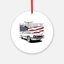 Maverick Round Ornament