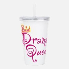 Drama Queen.png Acrylic Double-wall Tumbler