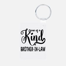 One of a kind Brother-in-l Aluminum Photo Keychain