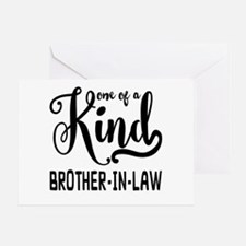 One of a kind Brother-in-law Greeting Card