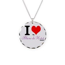 I heart my Blanc de Hotot Necklace