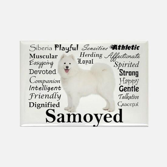 Samoyed Traits Magnets