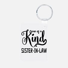 One of a kind Sister-in-la Keychains