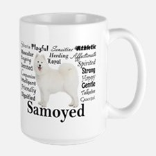 Samoyed Traits Mugs
