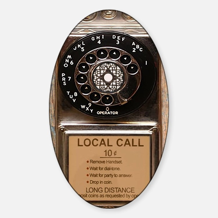 Cute Telephones Decal