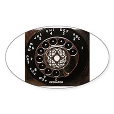 Funny Rotary dial Decal