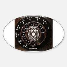 Cute Rotary dial Decal
