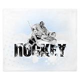 Ice hockey Luxe King Duvet Cover