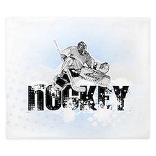 Hockey Player King Duvet