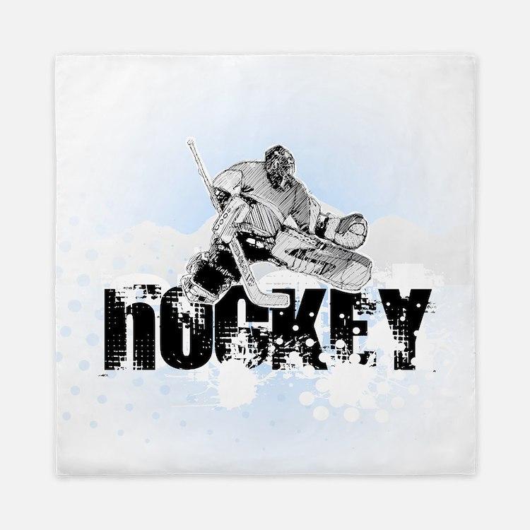 Hockey Player Queen Duvet
