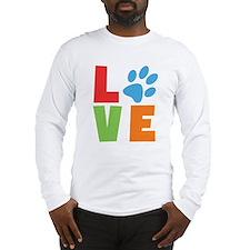 Cute Dog lover Long Sleeve T-Shirt