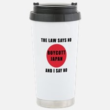 Boycott Japan - The Law Travel Mug