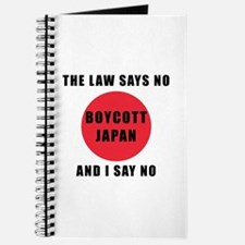 Boycott Japan - The Law Says No and I Say Journal