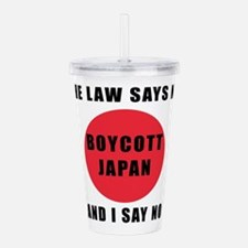Boycott Japan - The La Acrylic Double-wall Tumbler