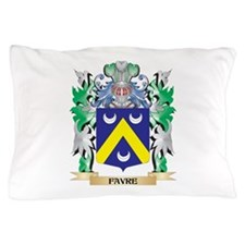 Favre Coat of Arms (Family Crest) Pillow Case