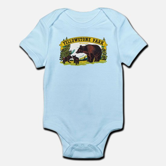 Yellowstone Bears Body Suit