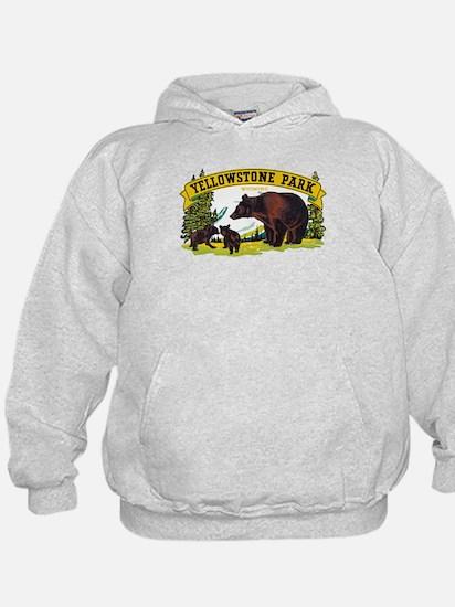 Yellowstone Bears Hoody