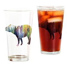 Cute Tapir Drinking Glass