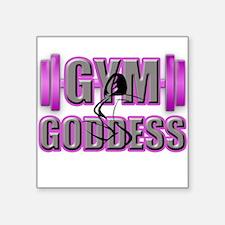 Gym Goddess-Design 2 Sticker
