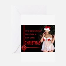 Unique Sexy christmas Greeting Card