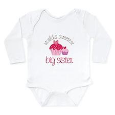 Cool Sweetest Long Sleeve Infant Bodysuit