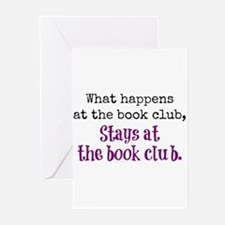 Unique Book club Greeting Cards (Pk of 10)