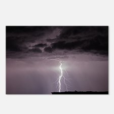 Unique Storm clouds Postcards (Package of 8)