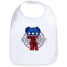 Kiss Mine GOP Bib