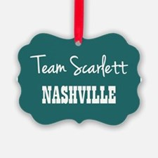 TEAM SCARLETT Ornament