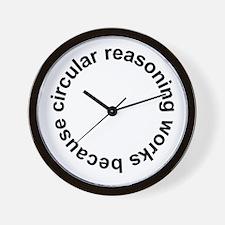 Circular Reasoning Works Wall Clock