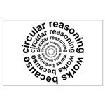 Circular Reasoning Works Large Poster