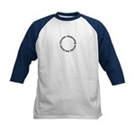 Circular Reasoning Works Kids Baseball Jersey