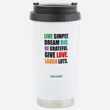 Cute Live happy Travel Mug