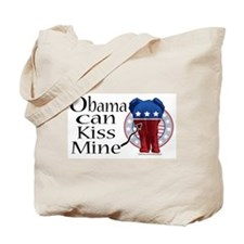 Obama, Kiss Mine Tote Bag
