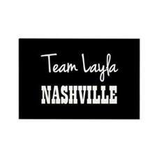 TEAM LAYLA Rectangle Magnet