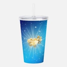 Group of small cute du Acrylic Double-wall Tumbler