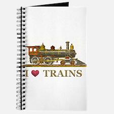 I Love Trains Journal