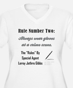 RULE NO. 2 Plus Size T-Shirt