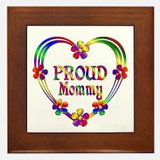 Proud Mommy Framed Tile
