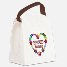 Proud Mommy Canvas Lunch Bag