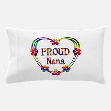 Proud Nana Heart Pillow Case