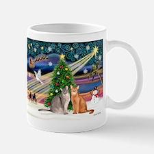 XMagic-2 Abyssinian cats Mug