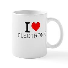 I Love Electronics Mugs