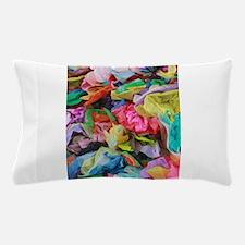 crepe paper flowers Pillow Case