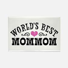World's Best MomMom Rectangle Magnet